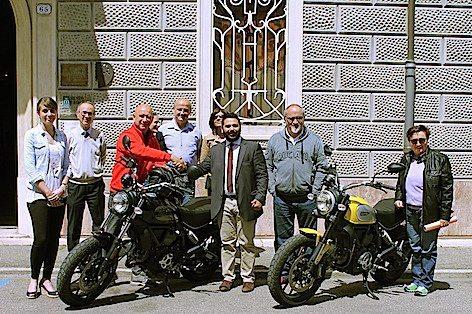 Visita di Livio Lodi al Museo Baracca, 18 maggio 2016 (2)