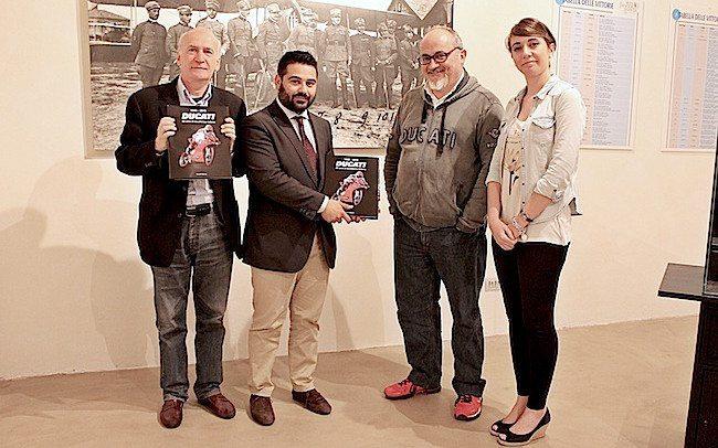 Visita di Livio Lodi al Museo Baracca, 18 maggio 2016 (3)