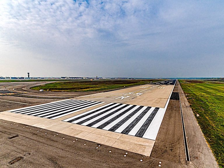 Conclusi i lavori per il rifacimento della pista 17L/35R e vie di rullaggio di Milano Malpensa