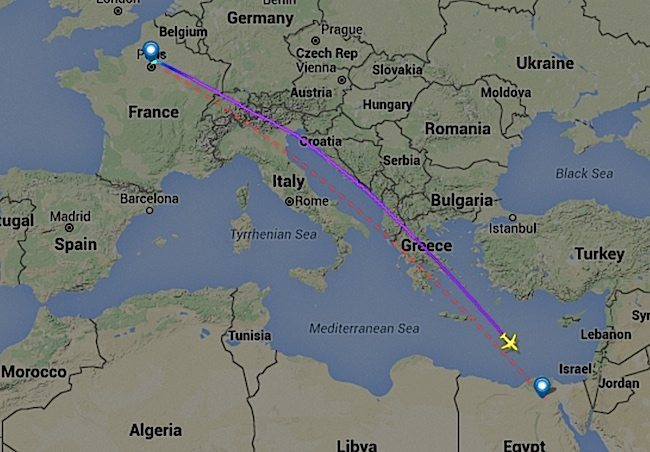 Volo EgyptAir MS804