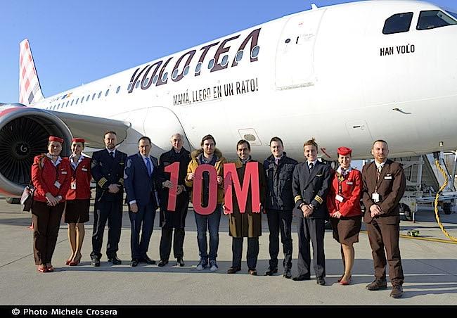 Volotea 10 milioni di passeggeri