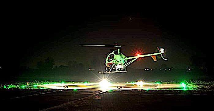 Un avviso agli elicotteristi… in VFR notturno