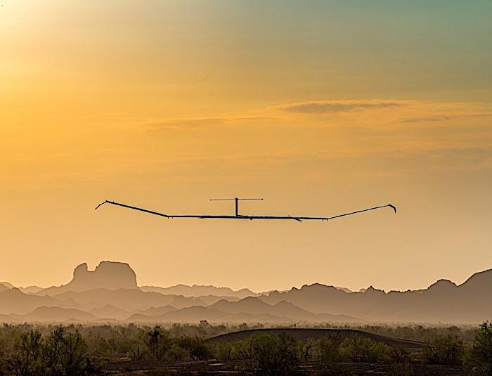 Zephyr Solar (HAPS) di Airbus: raggiunte nuove vette durante i test di volo dell'estate 2021