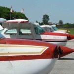 La flotta dell' aero Club di Lugo