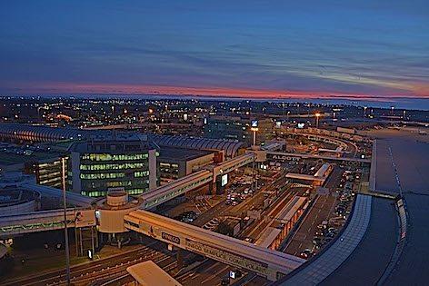 L'aeroporto di Fiumicino (foto Aeroporti di Roma)