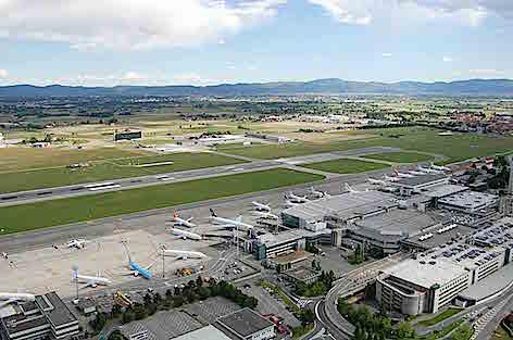 L'aeroporto di Torino Caselle (foto SAGAT)