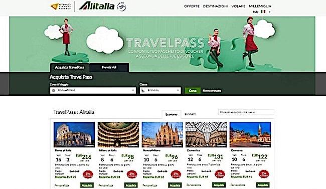 alitalia travelpass2