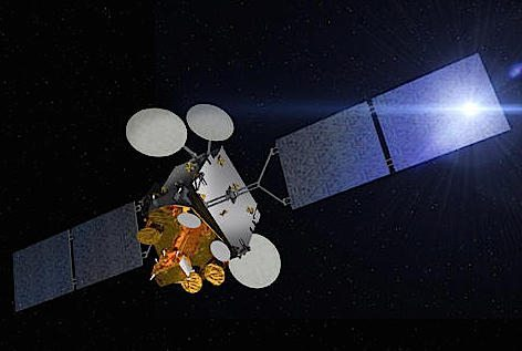Il satellite italo francese Athena Fidus (foto defense.gover.fr)