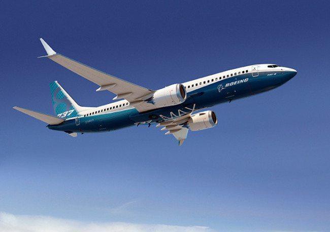Il nuovo Boeing 737 Max (foto Boeing)