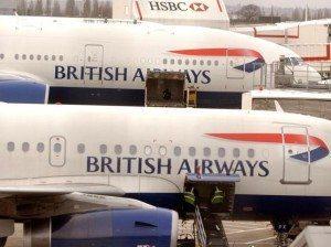 Aerei della British Airways (foto AP)