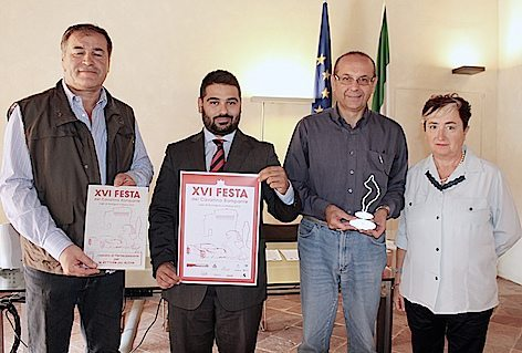 da SX Mauro Zanotti, Davide Ranalli, Giuseppe Annese, Daniela Versari