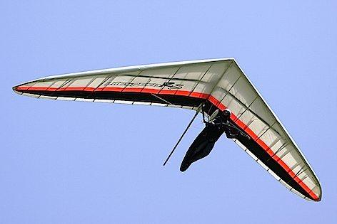 Un deltaplano in azione (foto FIVL)