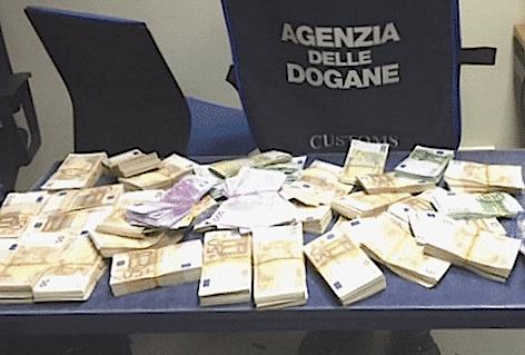dogane Roma 372mila euro seq