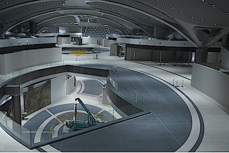 L'aerea E dell'aeroporto di Fiumicino (foto ADR)