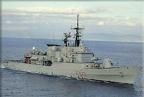 Nave Libeccio (foto Marina Militare)