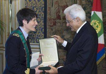 Samantha Cristoforetti incontra Mattarella e Renzi  (A.S.I. – Agenzia Spaziale Italiana)