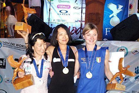 Nicole Fedele, a destra sul podio foto FIVL)