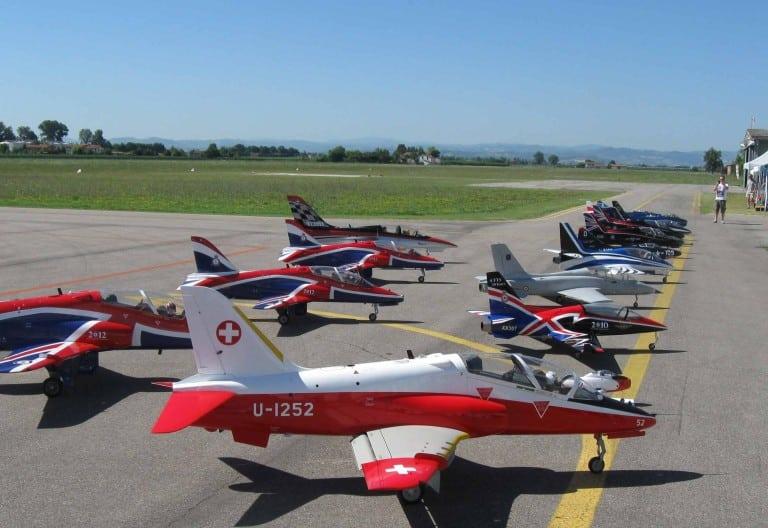 Aeroporto di Lugo: due giornate di spettacolo con l'aeromodellismo