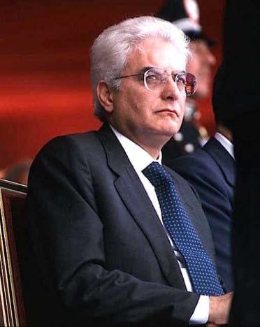 Il Presidente della repubblica Sergio Mattarella (foto Agenzia Dire)