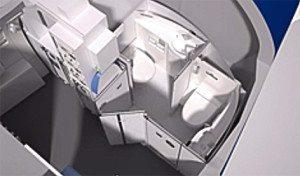 La toilette per disabili su Airbus