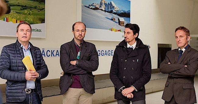 v.l. 650 Oliver Ladurner, Udo Mall, Marco Pappalardo, Manfred Mussner